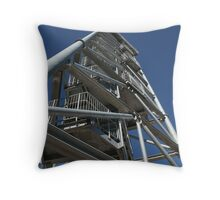 Leaning Tower of Gin Gin Throw Pillow