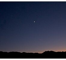 nevada moonrise by jamesacampbell