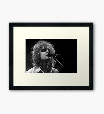 Brendan Benson Framed Print