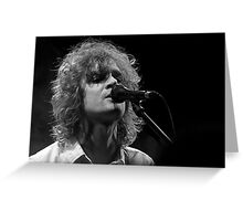 Brendan Benson Greeting Card