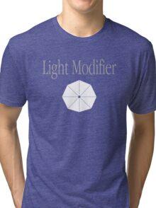 Light Modifier - Photography Tri-blend T-Shirt