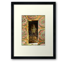 Buddha Quote Peaceful Inspiration Framed Print