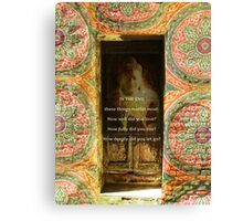 Buddha Quote Peaceful Inspiration Canvas Print