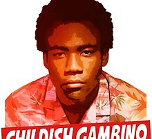 Childish Gambino by FreshPrintsCo