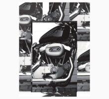 Harley Engine Mashup by Sophie Watson