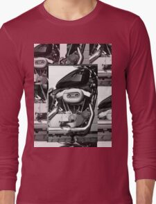 Harley Engine Mashup Long Sleeve T-Shirt