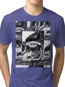 Harley Engine Mashup Tri-blend T-Shirt