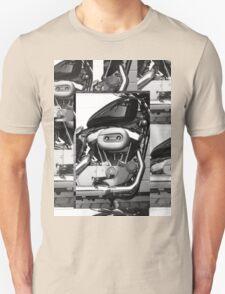 Harley Engine Mashup Unisex T-Shirt