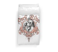 Dark Rider Duvet Cover