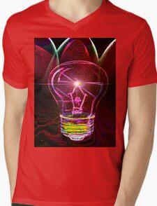 Bright Idea! Mens V-Neck T-Shirt