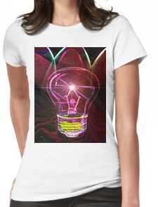 Bright Idea! Womens Fitted T-Shirt