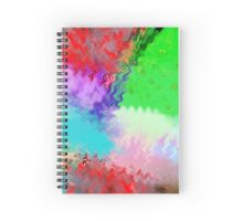 Garden Of Color Spiral Notebook