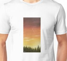 shooting star and the sunset 2 Unisex T-Shirt