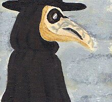 The Plague Doctor by kasoclaw