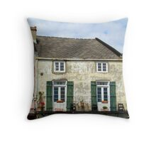 Old House Above The French Quarters Stores Throw Pillow