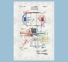Hockey Art - Game Board - Sharon Cummings One Piece - Short Sleeve