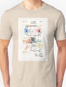 Hockey Art - Game Board - Sharon Cummings T-Shirt
