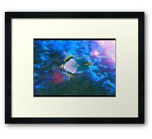 airship escape Framed Print