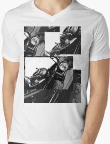 Harley Mashup Mens V-Neck T-Shirt