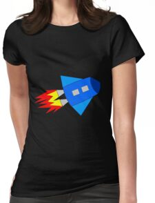 rocket bigger Womens Fitted T-Shirt