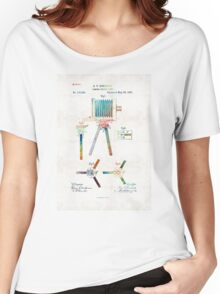 Vintage Camera Art - Tripod Joint - By Sharon Cummings Women's Relaxed Fit T-Shirt