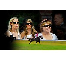 A Day at the Races Photographic Print