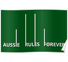 Aussie Rules Forever Poster