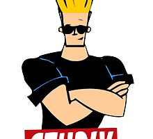 Johnny Bravo by FreshPrintsCo