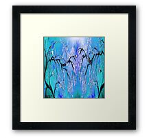 On A Clear Day ~ Abstract 29+ wall Art + Products Design  Framed Print