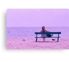 Girl you are not alone   Canvas Print