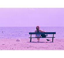 Girl you are not alone   Photographic Print