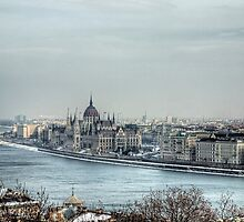 The Hungarian Parliament - Budapest by NeilAlderney