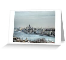 The Hungarian Parliament - Budapest Greeting Card