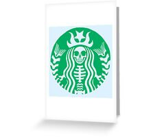 Corporate Coffee Greeting Card