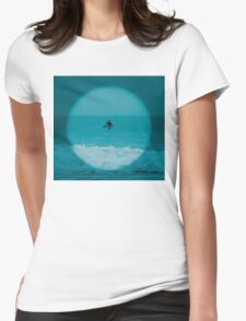 Misty Morning Womens Fitted T-Shirt