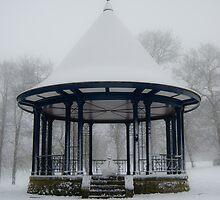 The band stand in Brough park by Brett Trafford