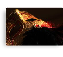 Mask of Gold Canvas Print