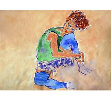 After Schiele Photographic Print