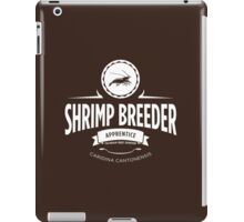 Shrimp Breeder - Apprentice iPad Case/Skin