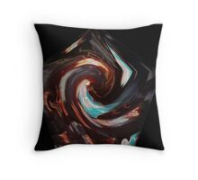 Keeper of the Flame - Abstract Throw Pillow