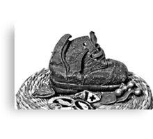 Anzac Boot Canvas Print
