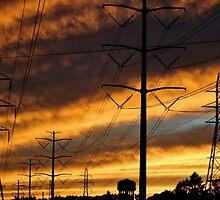 Fire Sky by Gilda Axelrod