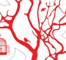 Caged Sticker