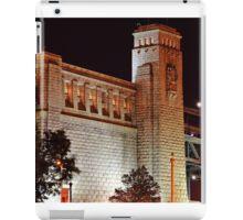 Ben Franklin Bridge Abutment iPad Case/Skin