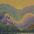 Spring in Himalayas by Yuliya Glavnaya