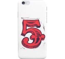 Red 5 iPhone Case/Skin