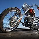 Low Rider Harley. by Mick Smith