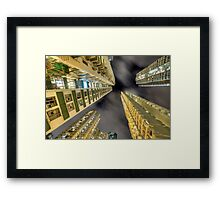 Vertical Speed Framed Print