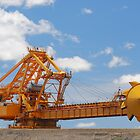 Coal Reclaimer - Kooragang Island by Phil Woodman