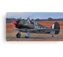 Boomerang, WW2 Australian Fighter Canvas Print